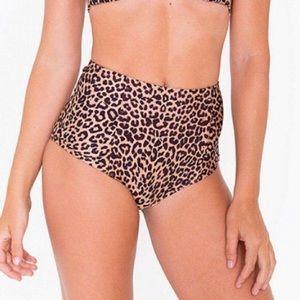 American Apparel high waisted bikini bottoms